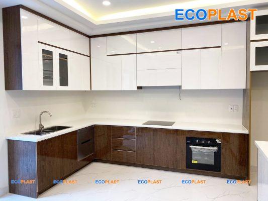 Tủ bếp nhựa ecoplast